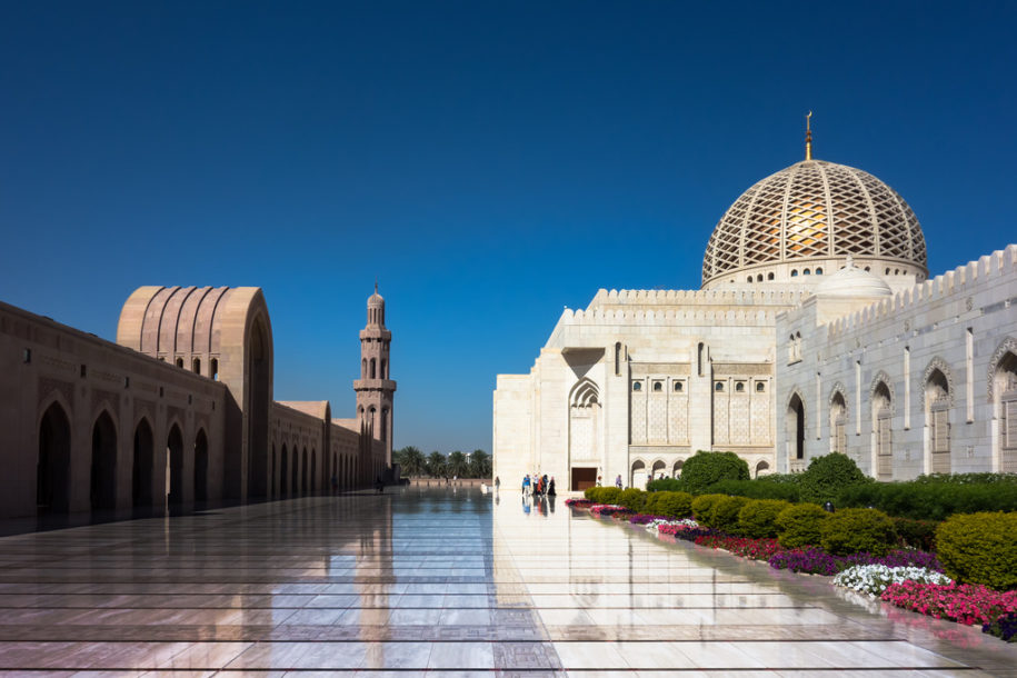 oman gran moschea del sultano qaboos